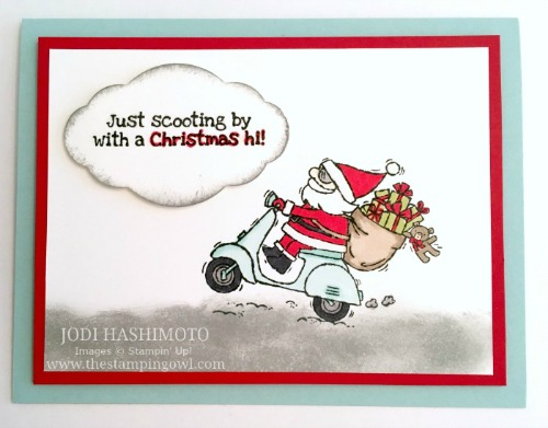 20181020 Scooter Santa card
