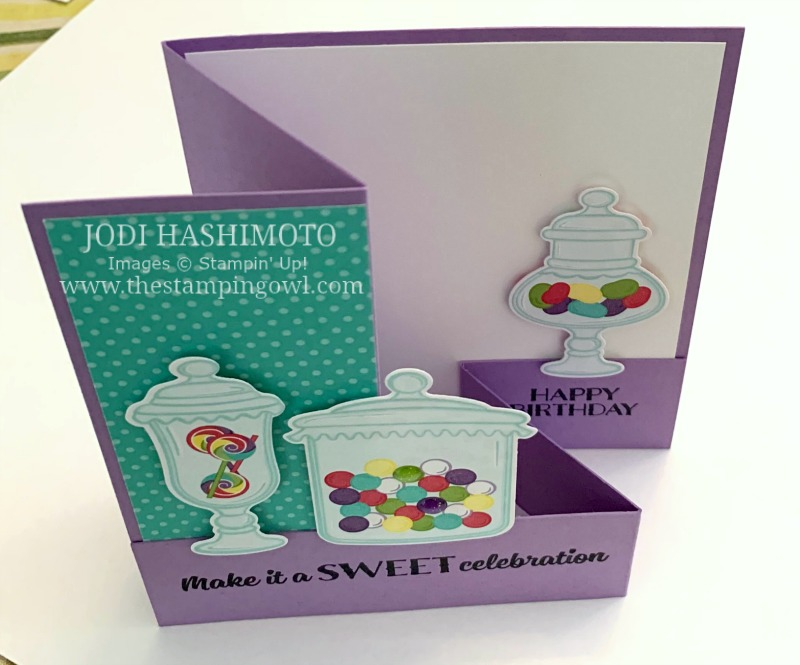20190316 Candy jars card-topview