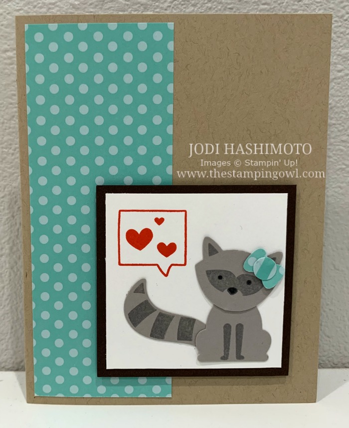 20190525 Raccoon Card