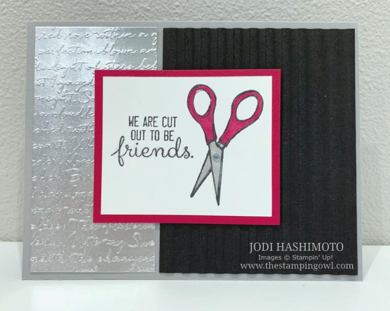20190817 Scissors card
