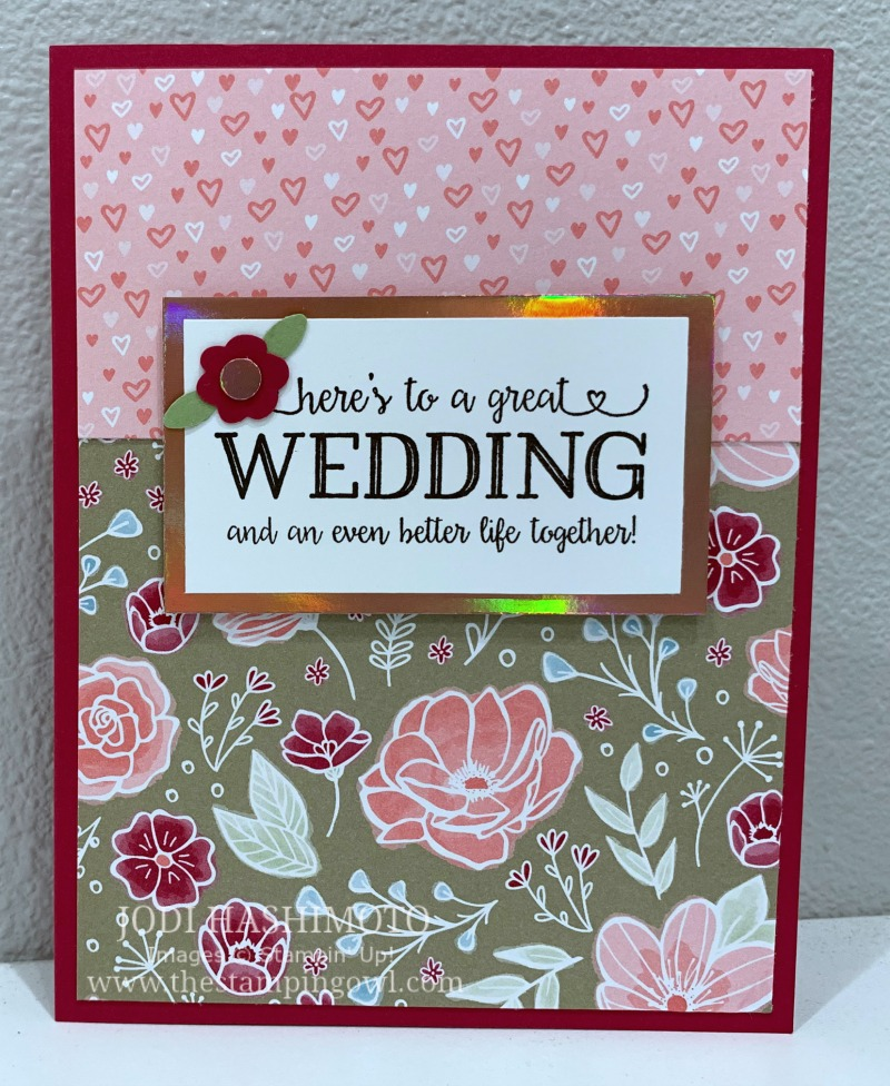 20190525 Wedding Card