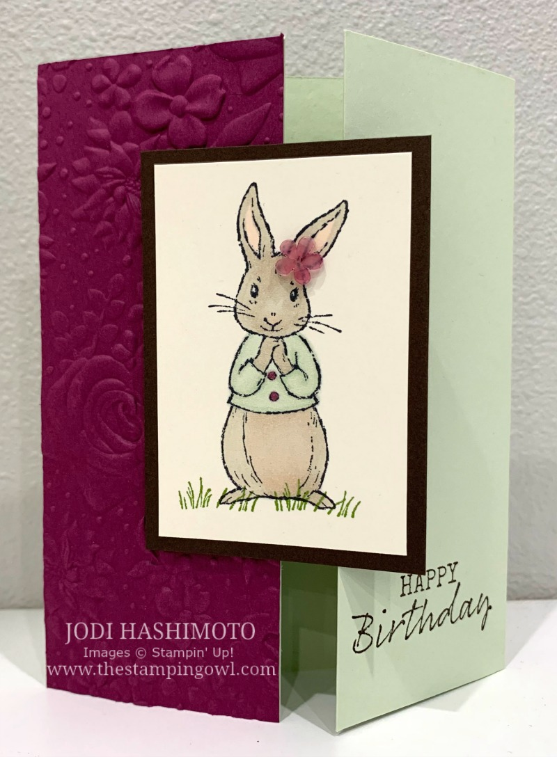 20190720 Rabbit panel card