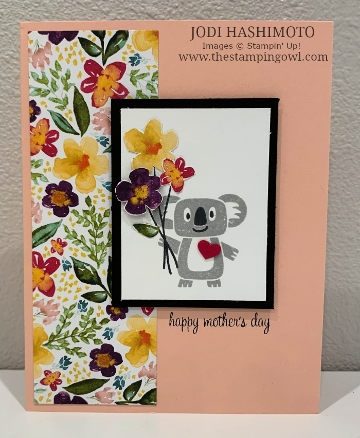 20200511 Koala Mother's Day Card