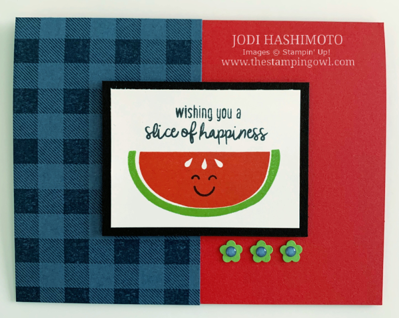 20200718 Watermelon card