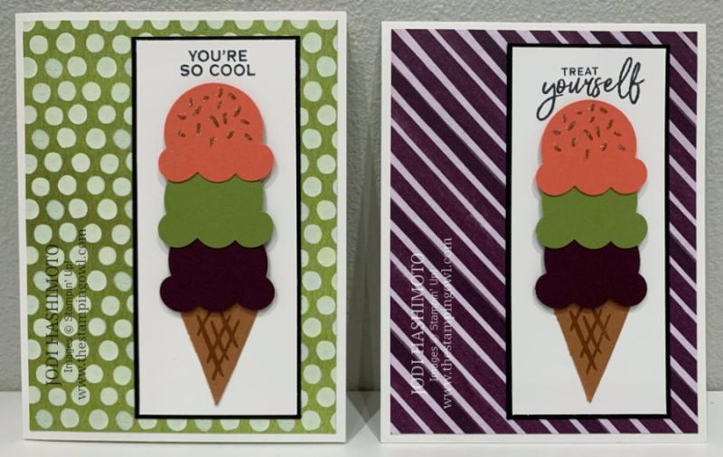 20210320 ice cream cone card