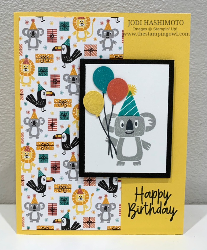 20200511 Koala Birthday Card