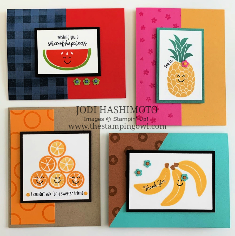 20200718 Cute fruit class