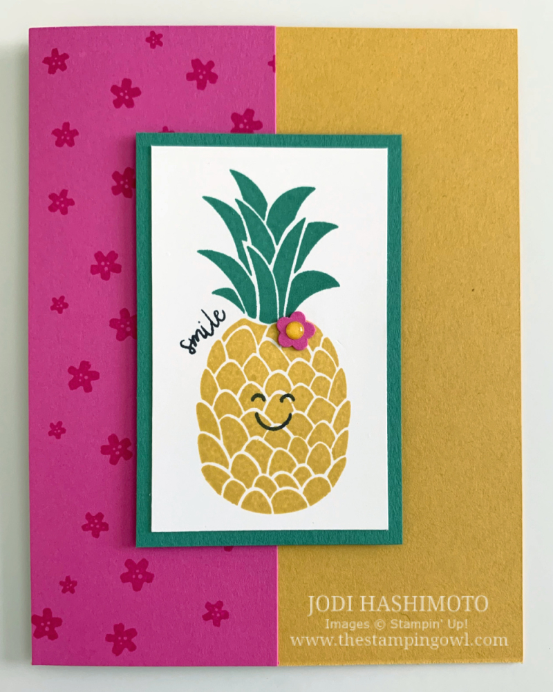 20200718 pineapple card