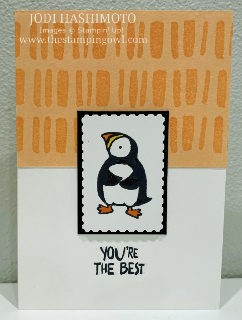 20210508 You're the best Puffin card