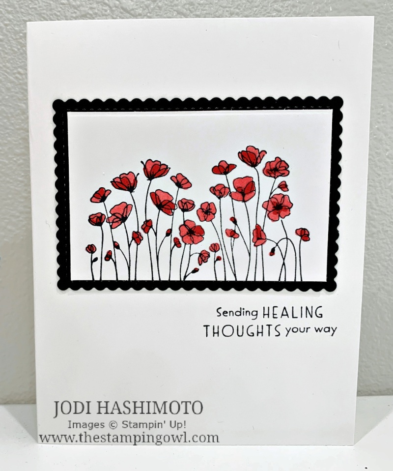 20210626 Poppies card