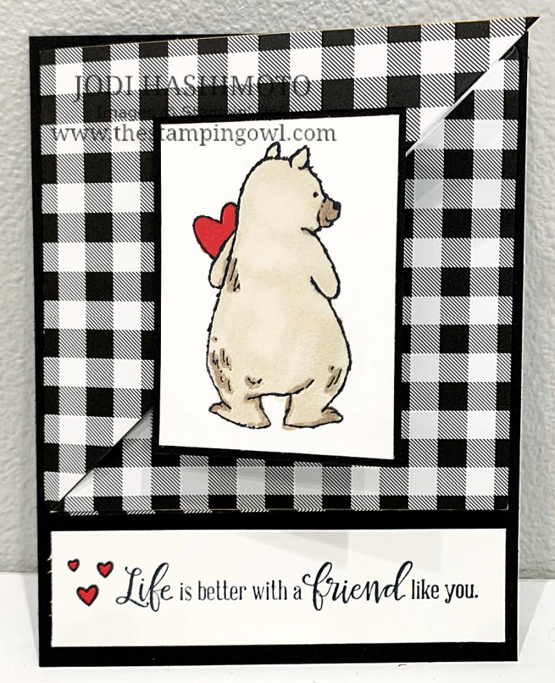 20210626 Bear diagonal pocket card 1