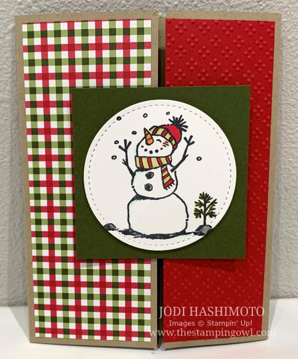 20201107 Snowman gate card