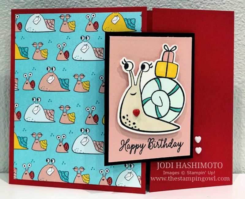 20210220 snail flip card