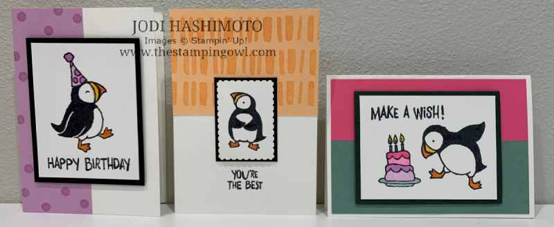 20210508 3 Puffin Cards